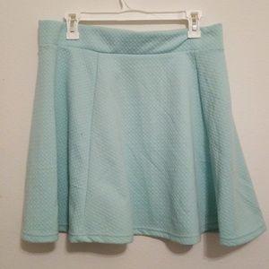 H&M | Divided | Teal Skirt